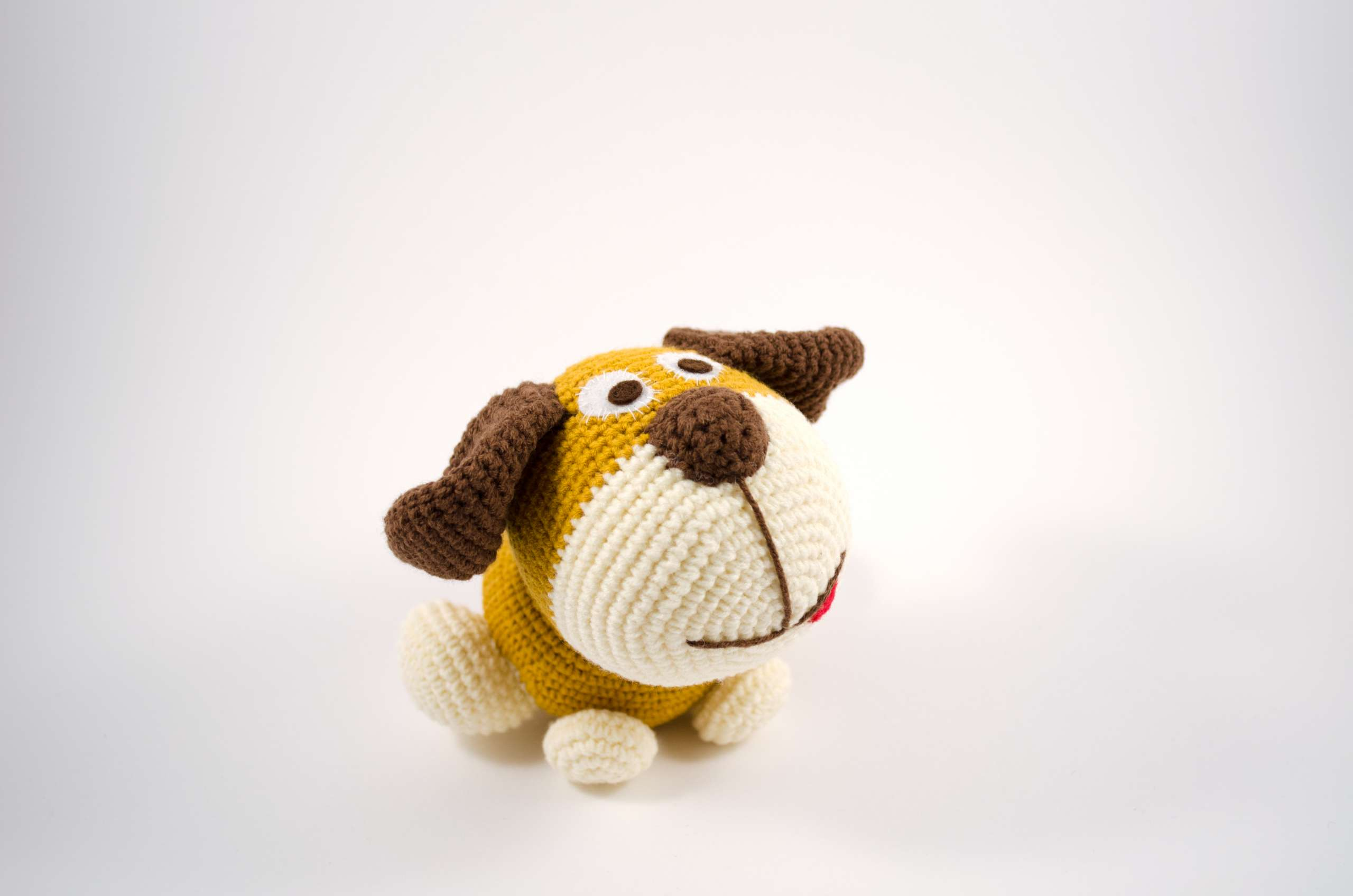 crochet woofy dog