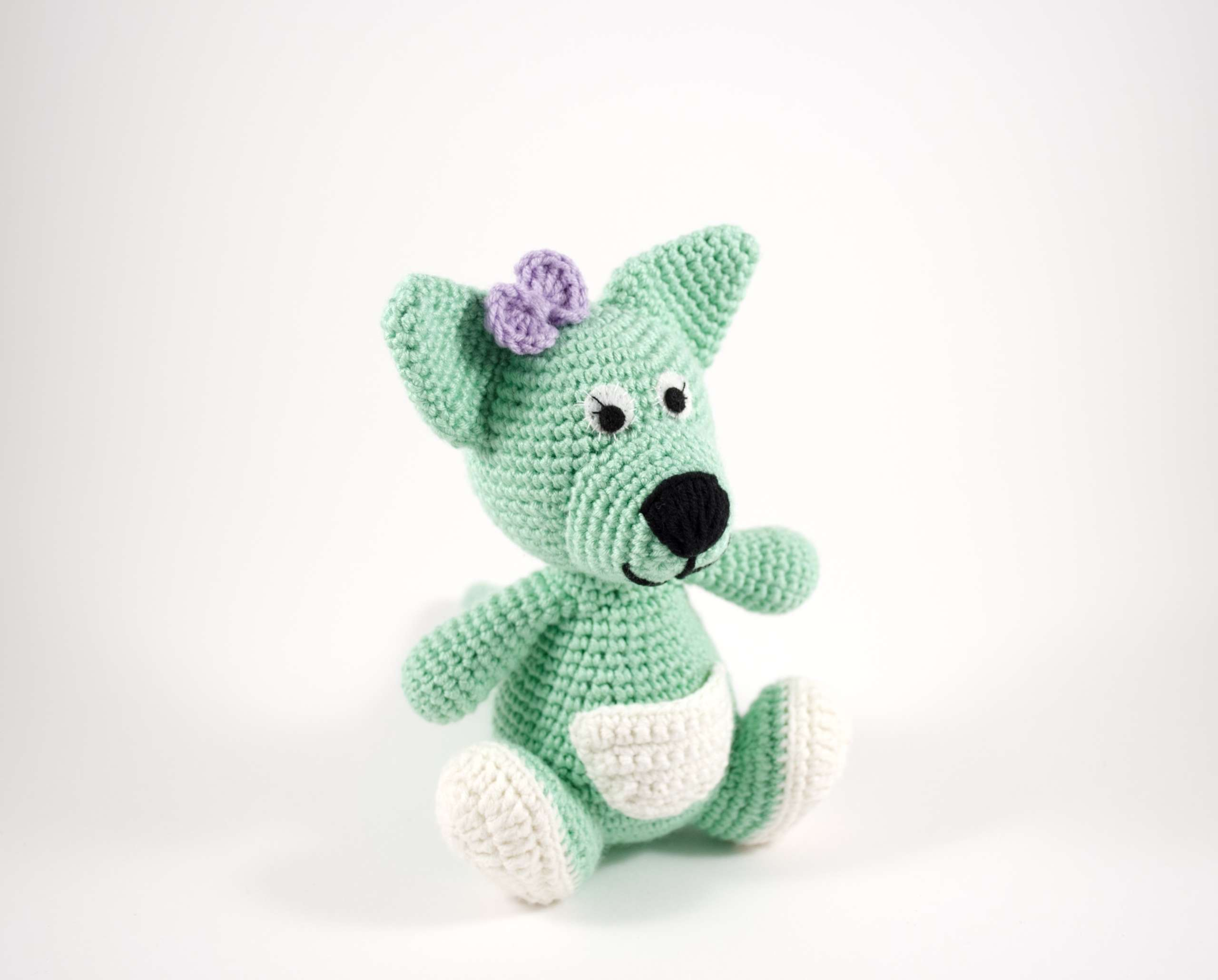 crochet chloe the kangaroo