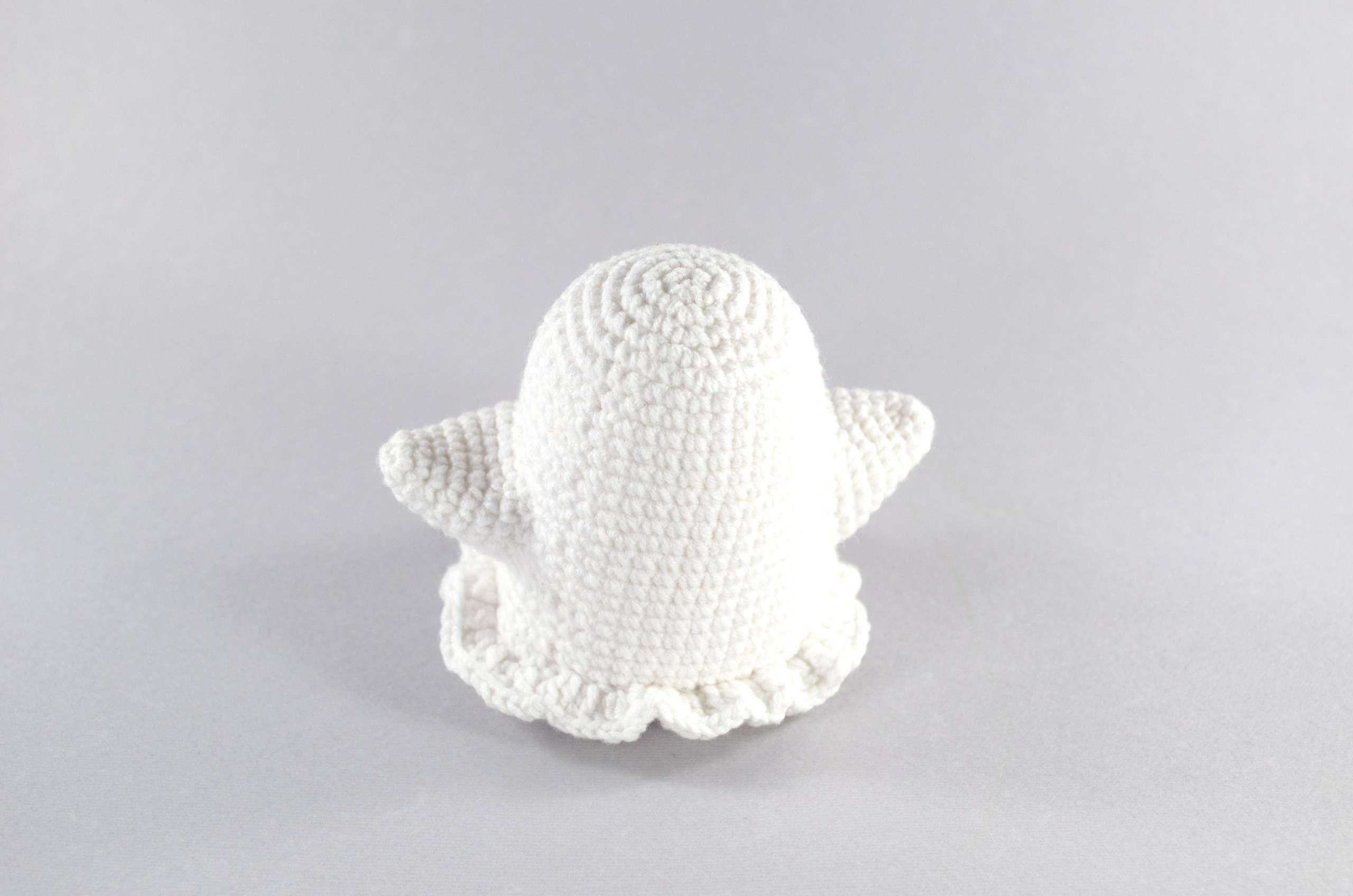 crochet ghost back view