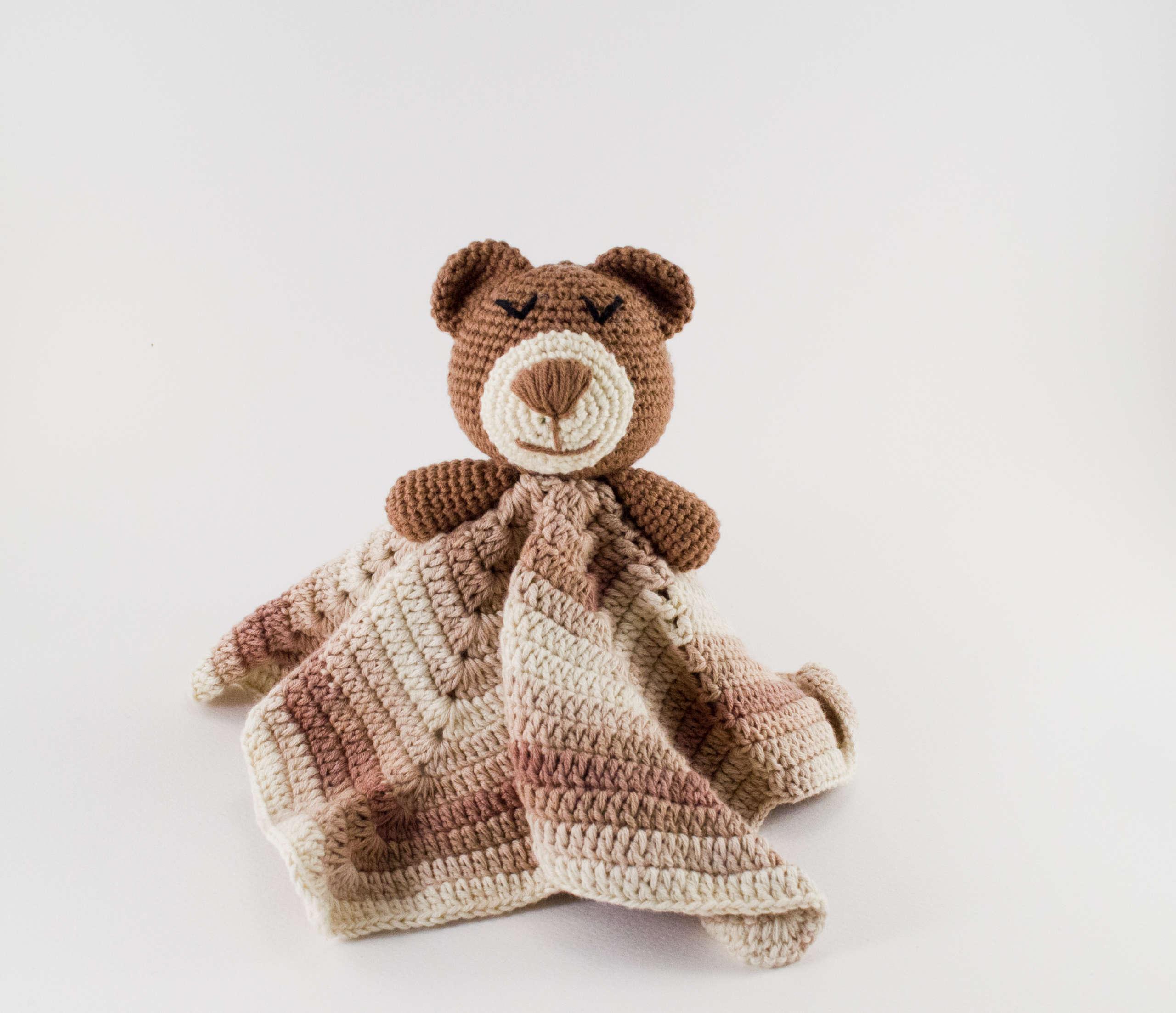 safety teddy bear blanket