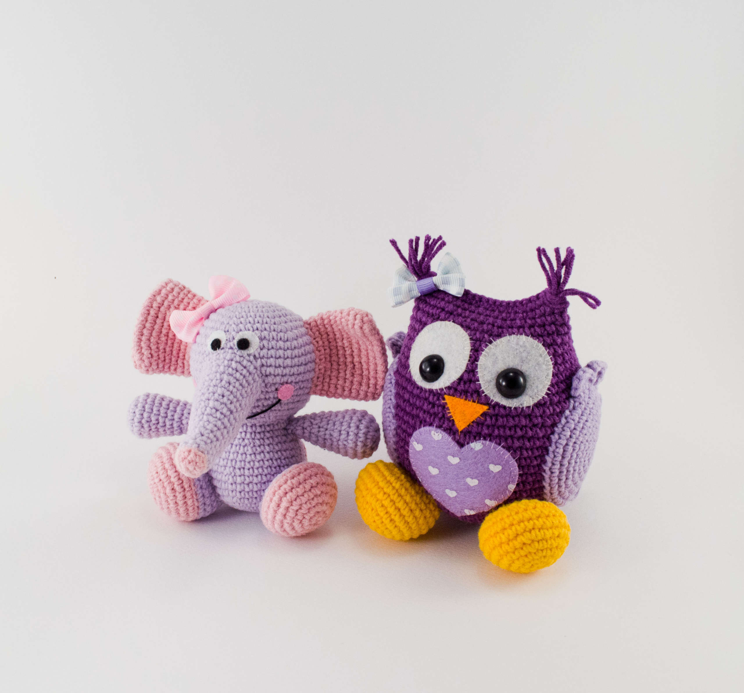 Hoooked Crochet Your Own Elephant Kit, Blue at John Lewis & Partners | 1787x1920